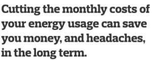 Energy Usage Quote