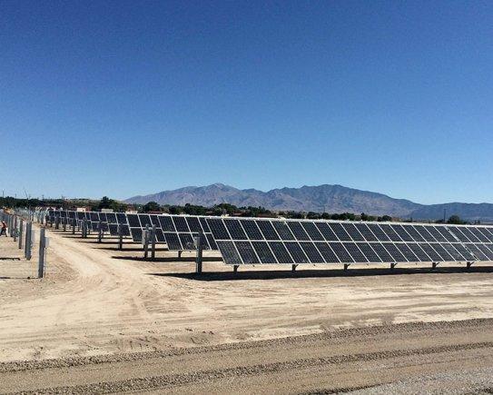 dugway solar array